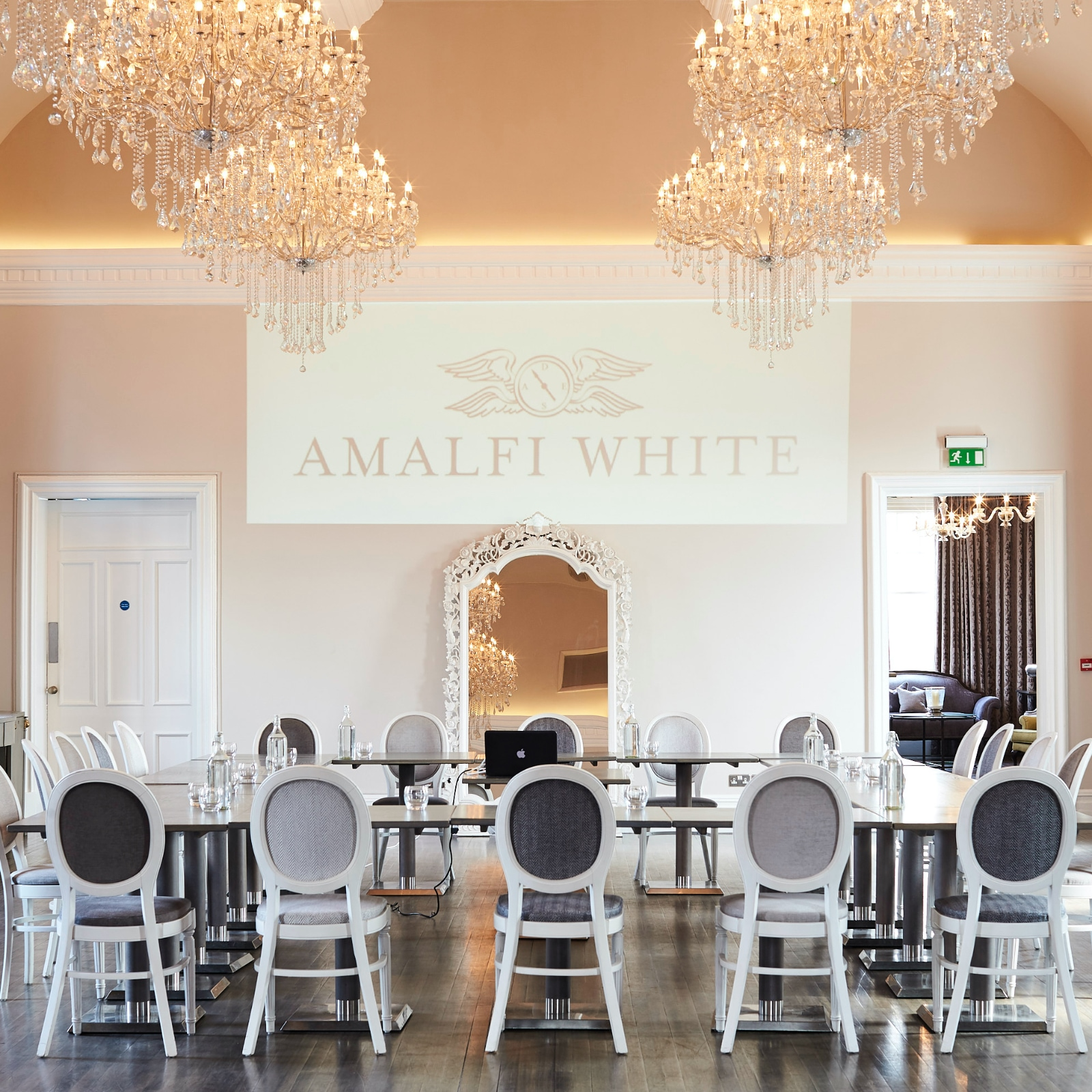 Business conferences held at Amalfi White